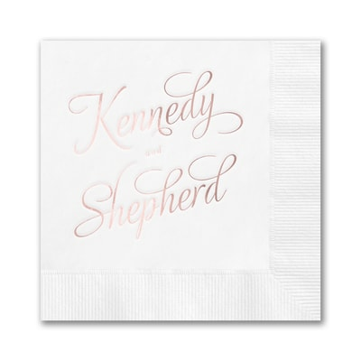 Simply Personalized Napkin - Beverage