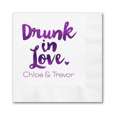 Drunk in Love Napkin - Beverage