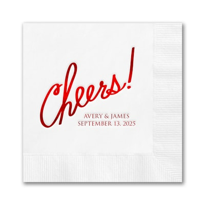 Cheers! Napkin - Beverage