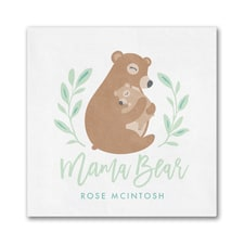 Mama Bear Napkin - Beverage