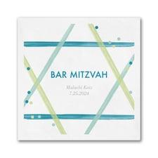 Magen David - Bar Mitzvah Napkin - Beverage