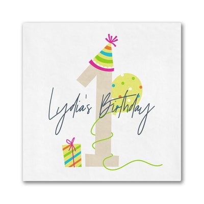 Birthday Fun Napkin - Beverage