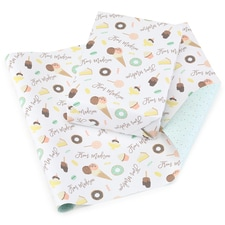 Tasty Treats Reversible Wrapping Paper