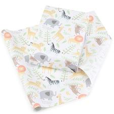 Baby Safari Reversible Wrapping Paper