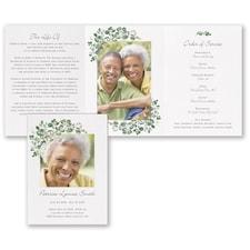 Botanical Celebration - Celebration of Life Folder