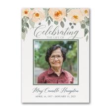 Celebrating Life - Celebration of Life Card