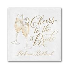 Bridal Cheers Napkin - Beverage
