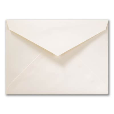 6 x 8 1/4 Tiffany Blank Outer Envelope - Ecru