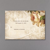 Vintage Roses - Response Card and Envelope