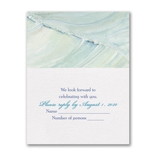 Ocean Waves - Response Card and Envelope