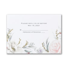 Ethereal Floral - Response Card