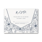 Lush Floral - Response Card and Envelope