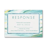 Shimmering Waves - Response Card and Envelope