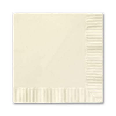 Ecru Beverage Napkin - Digital Coined