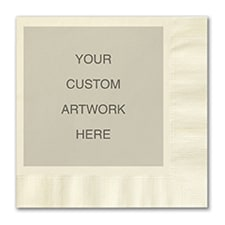 Ecru Luncheon Napkin - Digital Coined