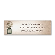 Rustic Sweet - Address Label