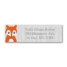 Foxy Style - Address Label
