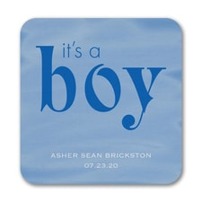 Boy Watercolor - Coaster