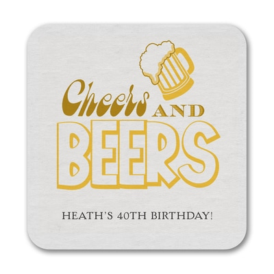 Beers and Cheers - Coaster