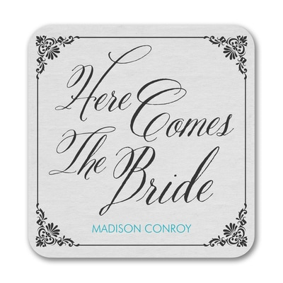 Bride Damask - Coaster