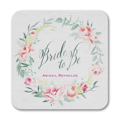 Bridal Wreath - Coaster