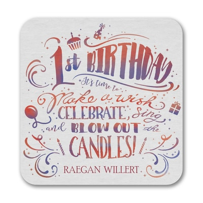 Birthday Wish - Coaster
