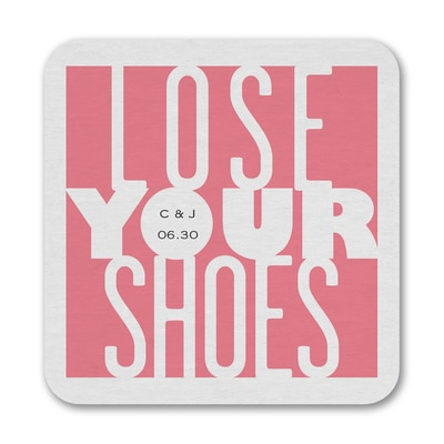 Lose Your Shoes - Coaster