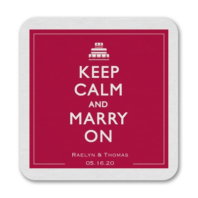 Keep Calm - Coaster