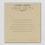 Wedding Day Grandeur - Direction Card