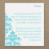 Vibrant Damask - Direction Card