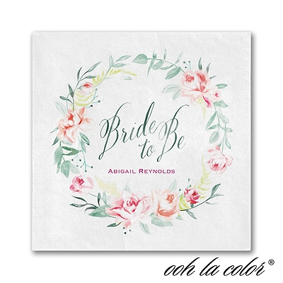 Bridal Wreath - Napkin