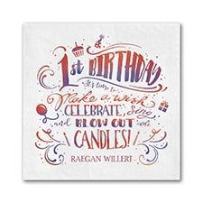Birthday Wish - Napkin