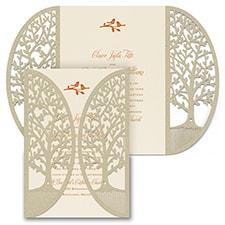 Enchanted Garden - Trees - Invitation - Trees