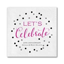 Celebrate Dots - Napkin