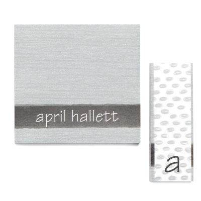 Gray Shade - Post It Note Set