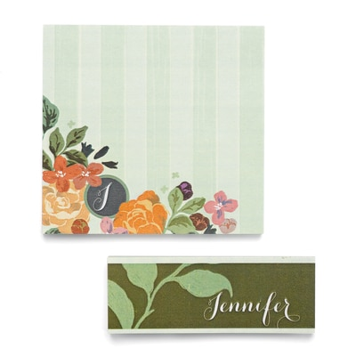 BoHo Flowers - Post It Note Set
