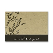 Earth Tones - Post It Note Set - Black