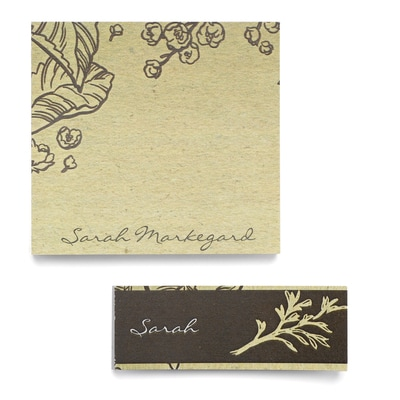 Earth Tones - Post It Note Set