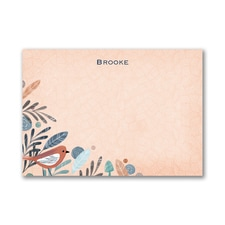 Birds of a Feather - Post it Note Set - Orange