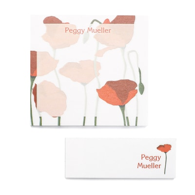 Poppies - Post It Note Set