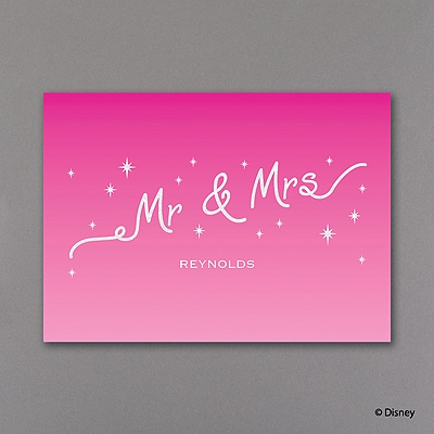 Moi Loves Him - Real Glitter Thank You Note
