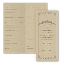 Wedding Day Grandeur - Program