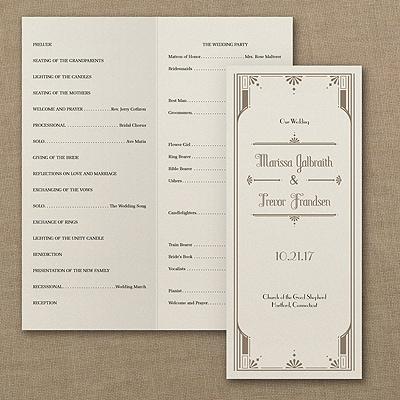 Art Deco Details - Program