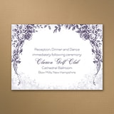 Vintage Garland - Reception Card