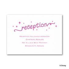 He Loves Moi - Reception Card