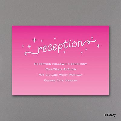 Moi Loves Him - Real Glitter Reception Card