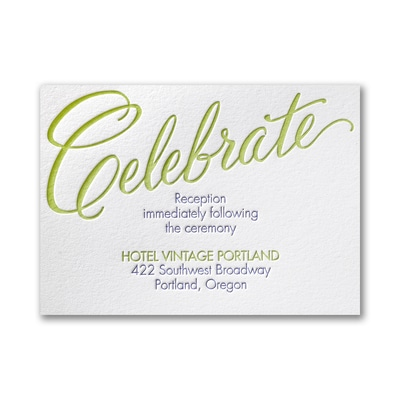 Love It - Reception Card