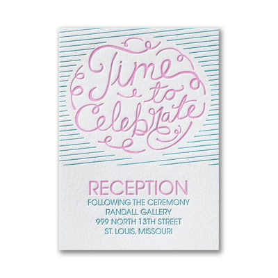 Only the Best - Reception Card