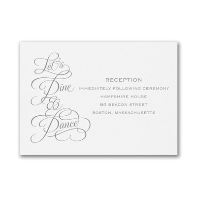 This Day - Reception Card