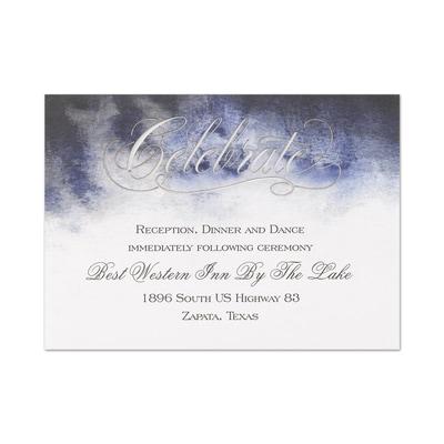Enchanting Love - Reception Card